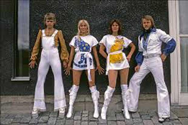 Money money money: Abba reveal their outfits were all about saving tax