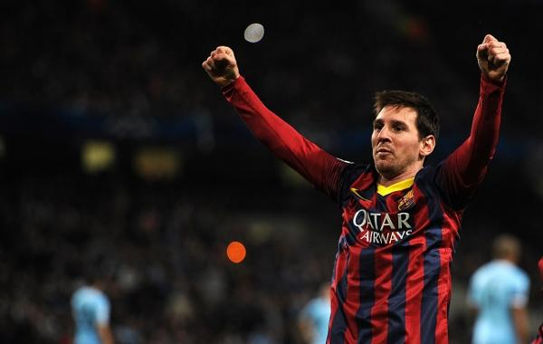 Another fine Messi: Barca wreck 10-man City's Euro hop