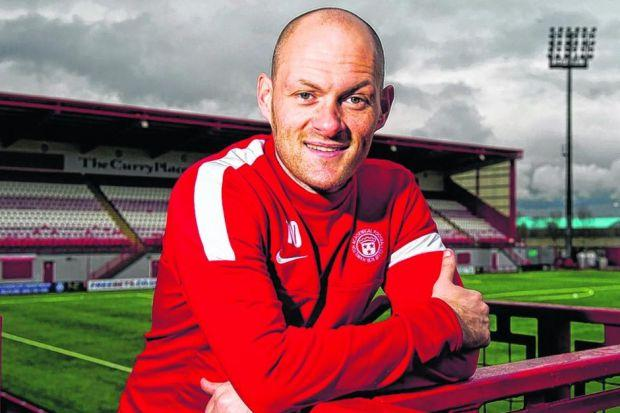 Having once led the Championship, Alex Neil had widened his gaze beyond fourth place in the table. Picture: SNS
