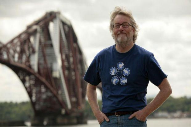 IAIN BANKS: Will be remembered when friends will read some of his poetry.
