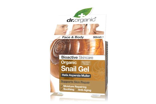 Well gel? Slather your skin with snail secretions