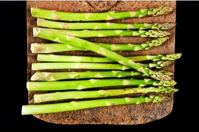 Eat asparagus in April, when in season