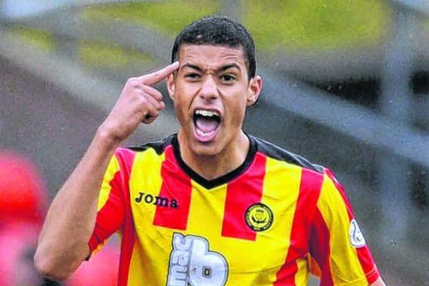 Lyle Taylor has solved Thistle's striking impotence since signing in January. Picture: SNS