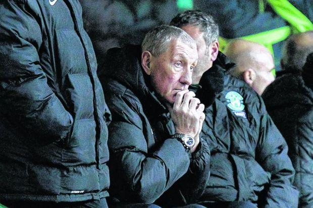Terry Butcher has been afflicted by  the malaise that has tended to haunt managers of Hibernian. Picture: SNS
