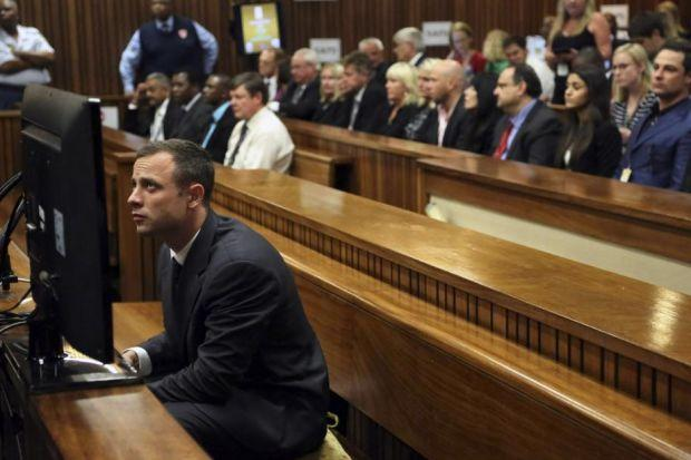 Oscar Pistorius is accused of murdering his girlfriend Reeva Steenkamp. Pistorius's brother Carl and Reeva's mother, also Reeve, were in court to hear evidence.