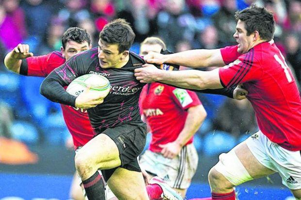 Matt Scott in action for Edinburgh. Picture: SNS