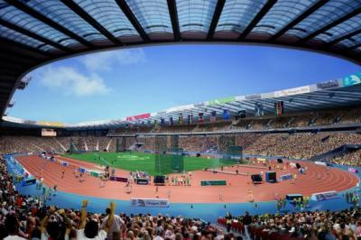 Business hub plan for Glasgow Games