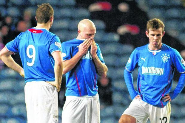 Nicky Law (centre) said the draw at home to Stranraer on Boxing Day felt