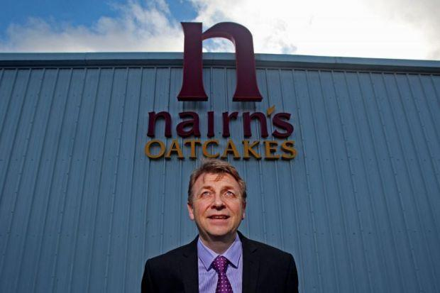 ALL GO AT THE OATCAKE CORRAL: Nairn's managing director Martyn Gray is looking eagerly to the future after his first year at the helm. Picture: Gordon Terris