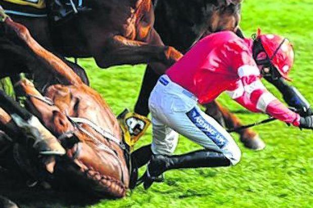 Ruby Walsh is spilled by Abbyssial