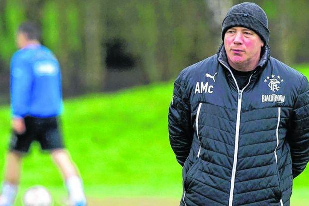 Ally McCoist admits frustration that other clubs will be able to steal a march on them this summer. Picture: SNS