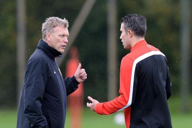Robin Van Persie's comments only put David Moyes on the spotPhotograph: PA