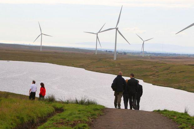 TOURISM: While many were unhappy with turbines, their defenders say sites like Whitelee Wind Farm attract visitors. Picture: Mark Gibson
