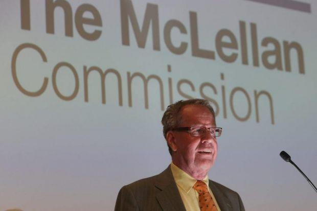 REVIEW: Andrew McLellan said he was surprised to have been asked to lead the commission, and that change was crucial. Picture: Gordon Terris