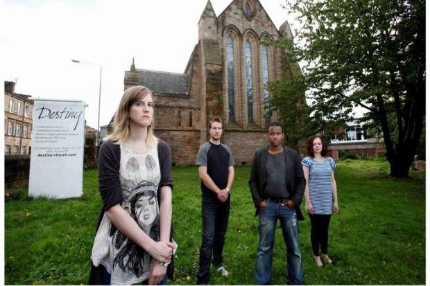 COSTLY BATTLE: Members of Destiny Church at the Shawlands Campus in Glasgow. Picture: Martin Shields