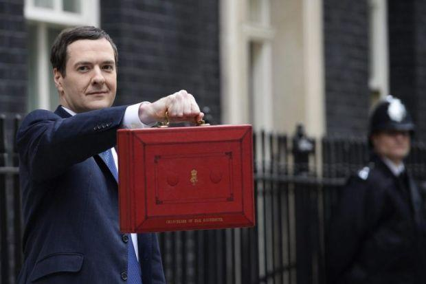 STARK WARNING: Chancellor George Osborne said oil revenue downgrades would leave every Scot £1000 worse off under independence. Picture: Facundo Arrizabalaga/EPA