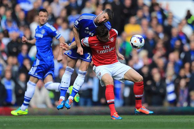 Chelsea 6 Arsenal 0: Embarrassing loss for Wenger, and wrong man sent off for handball