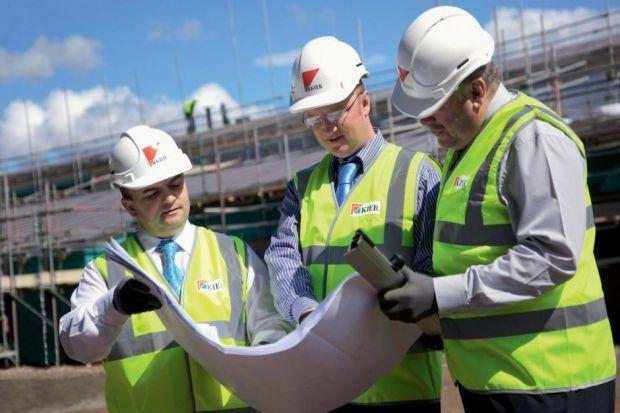 progRESS: Contracts in the public sector are now starting to 'filter through', with Kier picking up a number of projects. Picture: Peter Noyce