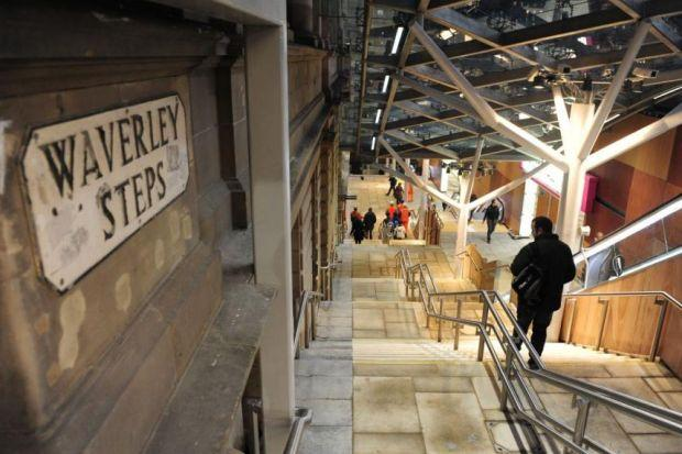 SALES PLATFORM: Edinburgh's Waverley station will offer stalls to sell handmade crafts and local produce to a huge footfall of visitors in the capital.