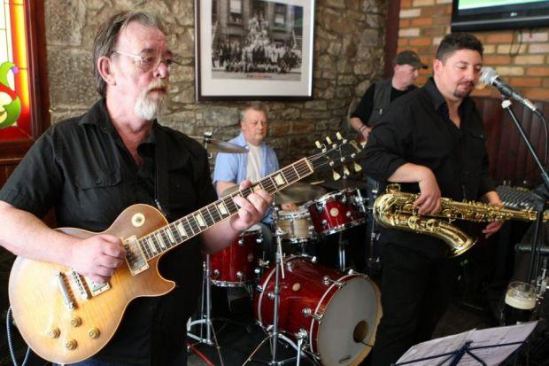 PLAYING THE BLUES: The Groove-A-Matics perform at last year's event, which will be the last for a while after organisers cancelled this year's bonanza.