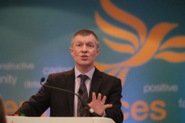 MESSAGE: Willie Rennie says members at party's spring conference will hear backing for Scotland's place in Union and in Europe. Picture: Steve Cox