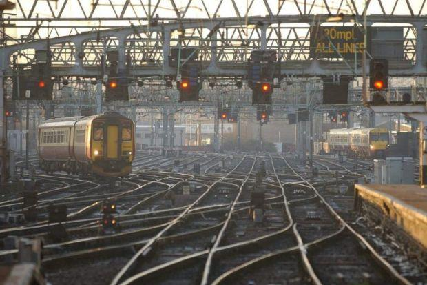 There are fears over rail services during the Commonwealth Games.