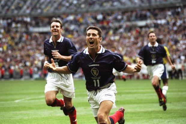 John Collins would imagine taking a penalty the night before Scotland faced Brazil in 1998 so that he would be better prepared. Picture: SNS