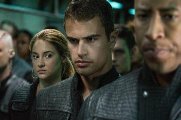 Theo James takes Hollywood stardom in his stride with role in Veronica Roth's Divergent