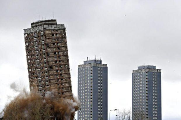New safety fears over demolition of Red Road flats