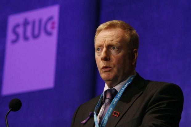 STUC takes on sister body in funding battle