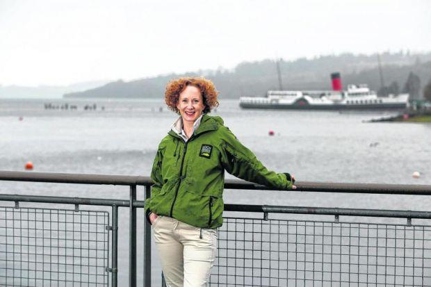 Dream JOB: Chief executive Fiona Logan is passionate about her work running Loch Lomond and The Trossachs National Park and says her journey there is far from over.