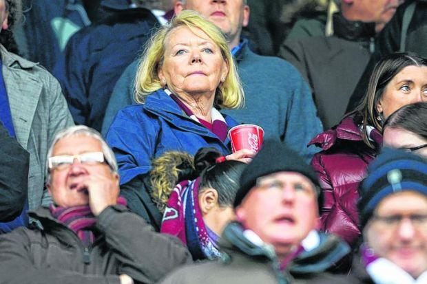 Ann Budge's personal wealth will not be lost on the Lithuanians . . . Picture: SNS
