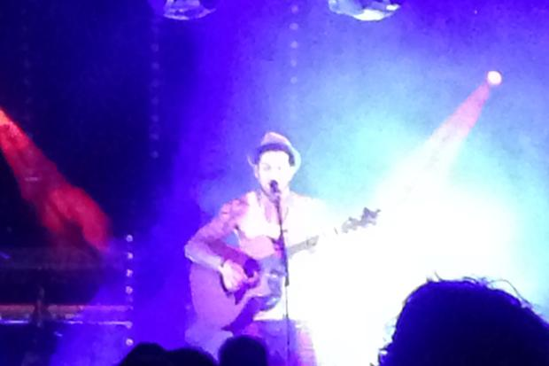 You The Critic: Matt Cardle, The Arches, Glasgow