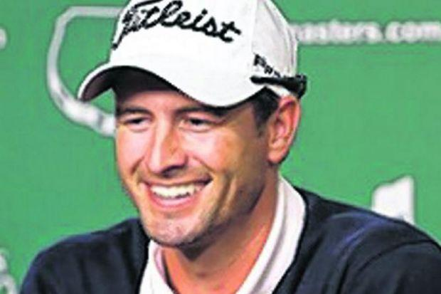 Adam Scott: 'I've got to go all out to impress these guys'