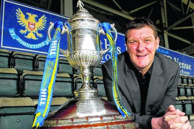 Tommy Wright - minus his gall bladder - urges his side to 'make history' and reach the final of the Scottish Cup on Saturday. Picture: SNS