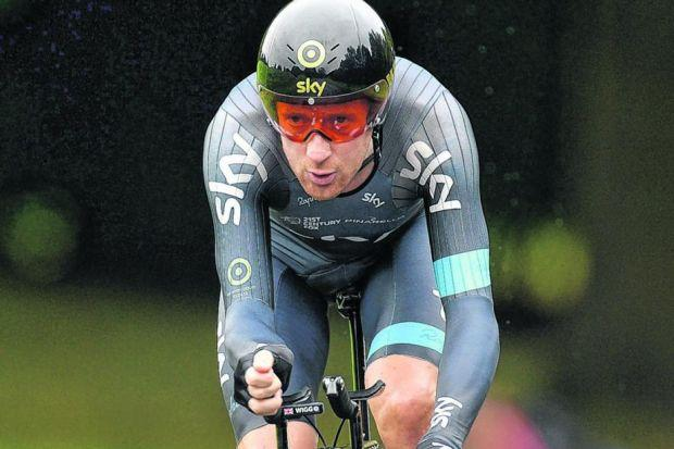 Sir Bradley Wiggins' star shone so brightly in 2012 but waned in 2013. Picture: Martin Rickett/PA
