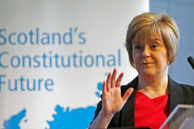 NICOLA STURGEON: Will target Labour voters for referendum vote and is due to announce an extra £1 million funding for foodbanks. Picture: Gordon Terris