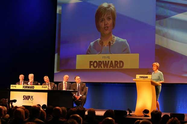Sturgeon: Yes has got the mo...and we're unstoppable