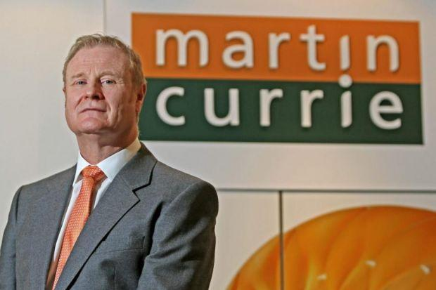 WILLIE WATT: Chief executive of Edinburgh investment house Martin Currie described 2013 as a good year for the business, making a £4.8m profit.