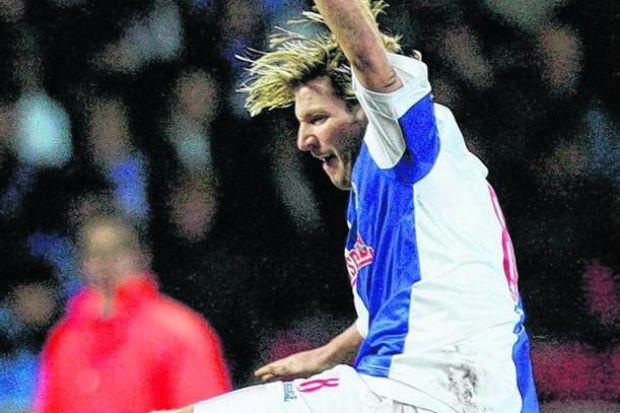 Robbie Savage was not one for leaving the field of play. Picture: Getty