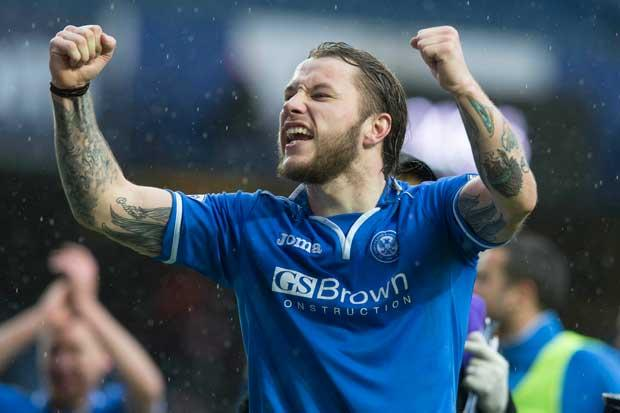St Johnstone 2 Aberdeen 1: May's double secures cup semi-final win for St Johnstone