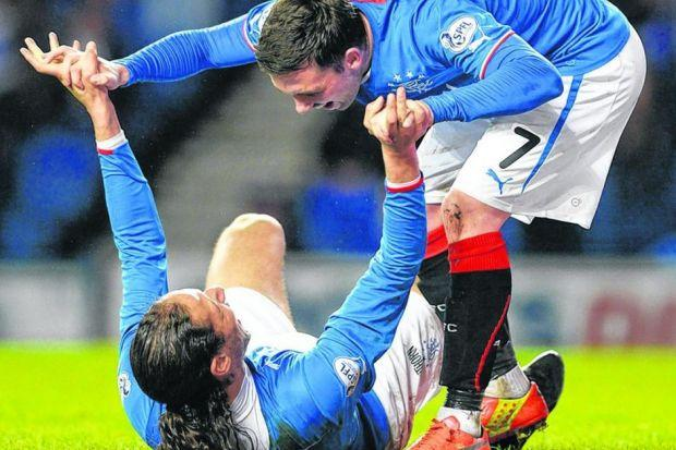 After poor displays in cup competitions Nicky Clark and Bilel Mohsni were back to winning ways. Picture: SNS