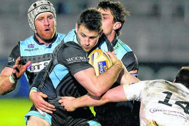 Glasgow's Tommy Seymour is up for every game on league run-in. Picture: Craig Watson/SNS