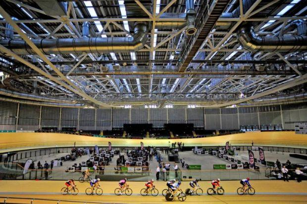 If the Commonwealth Games keeps expanding, there is a danger that only first-world countries will be able to afford facilities such as the Sir Chris Hoy Velodrome. Picture: Getty Images