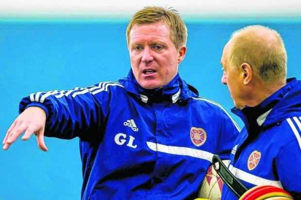 Gary Locke considers the day that 14 members of staff lost their jobs to be the darkest moment of his tenure but the manager is now able to look ahead with optimism. Picture: SNS
