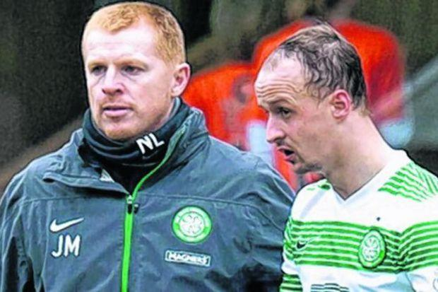 Neil Lennon says he will be fully supportive of Leigh Griffiths, who he called 'a bit d