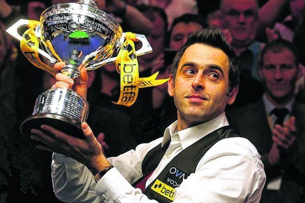 Ronnie O'Sullivan lifted the World Championship trophy last year and is a strong favourite to emulate the feat in Sheffield in the final next month. Picture: Warren Little/ Getty Images