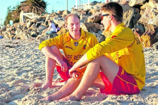 BRIGHT FUTURE: David Speirs, left, who grew up in Wigtownshire is one of Australia's youngest MPs.