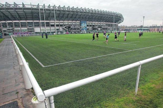 The all-weather pitch laid down behind Murrayfield has been an asset. Picture: Gordon Terris