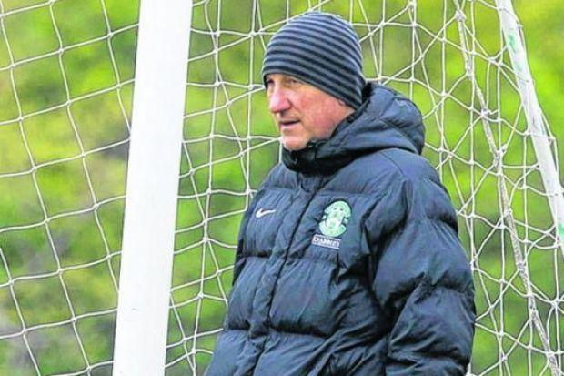 Terry Butcher has praised Hibs' attitude in training this week. Picture: SNS